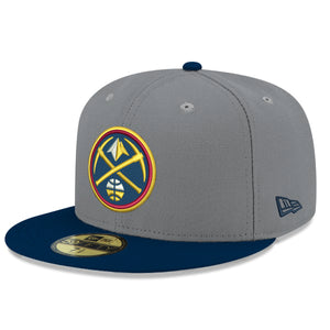 Grey/Navy Low Profile Primary Icon Fitted 59FIFTY