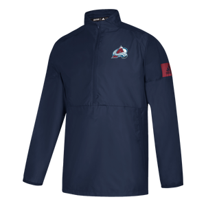 Avalanche 1/4 Zip Game Mode - Navy