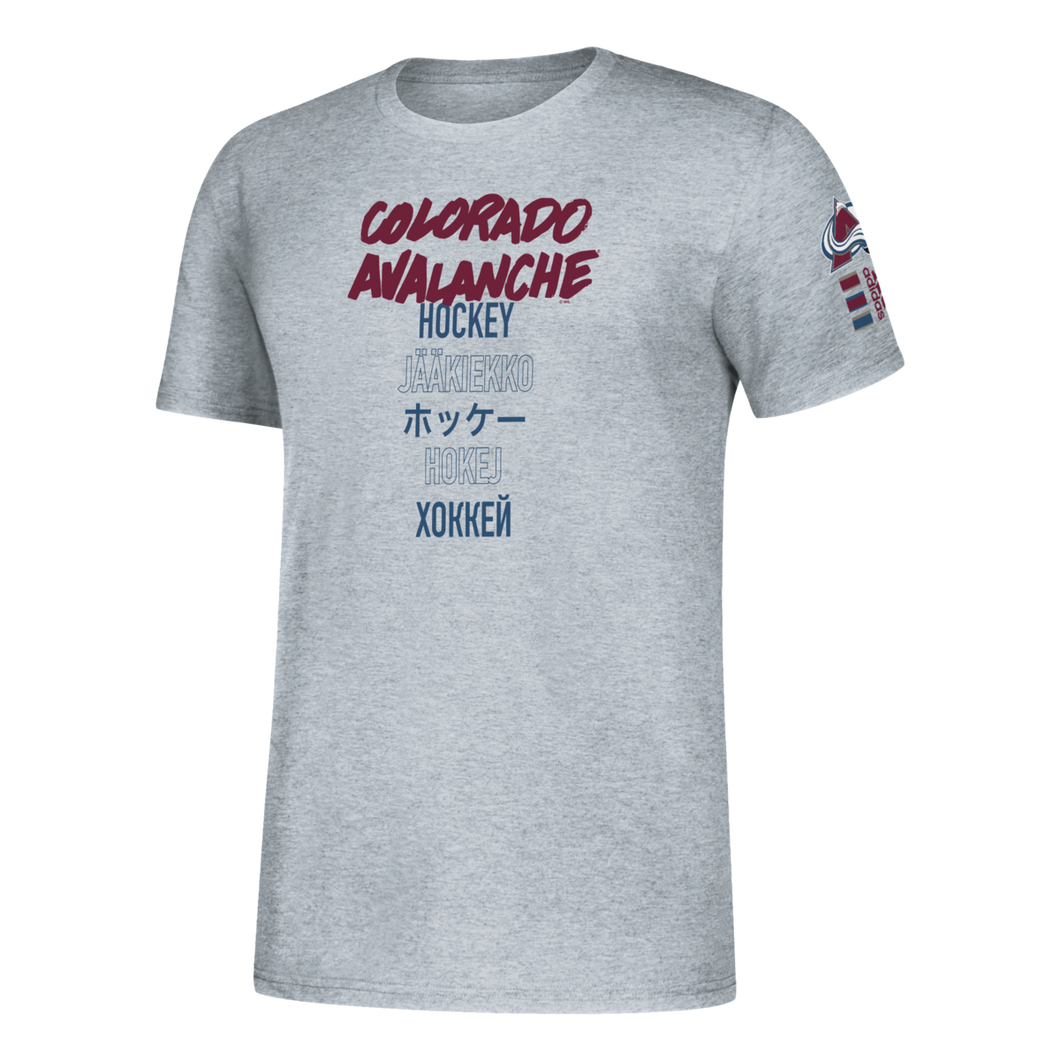 Avalanche Global Game Hockey Tee