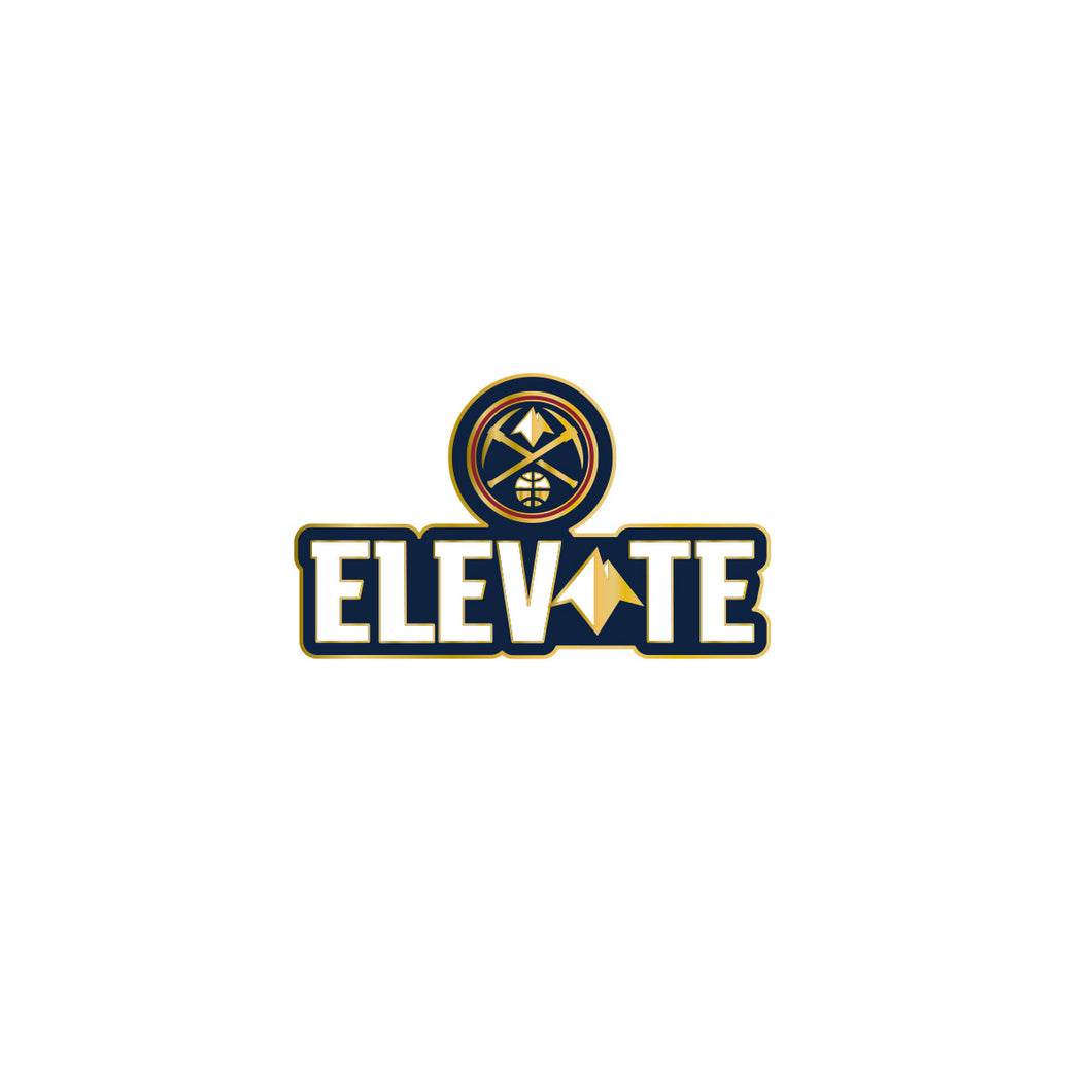 2019 Nuggets Elevate Lapel Pin