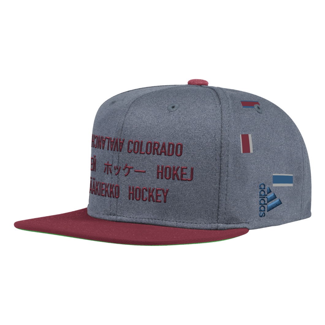 Avalanche Languages Snapback Hat