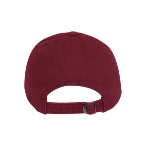 Avalanche Slouch Cotton Hat - Burgundy