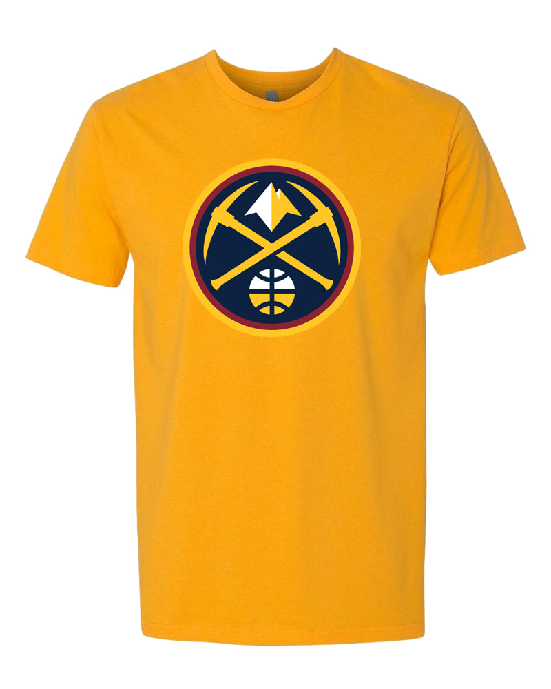 Nuggets Primary Logo Tee - Gold