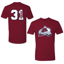 Avalanche #31 Philipp Grubauer Player Tee