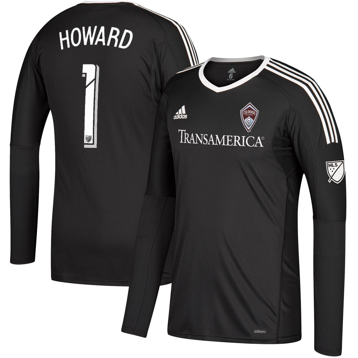 129832fba Tim Howard L S Authentic Jersey – Altitude Authentics