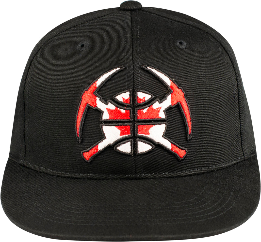 Nuggets Canada Country Pick Axe Snapback