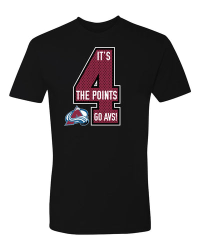 Avalanche 4 The Points Tee