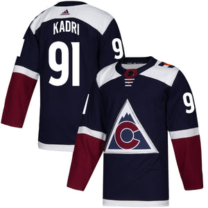Avalanche Authentic Alternate Player Jersey