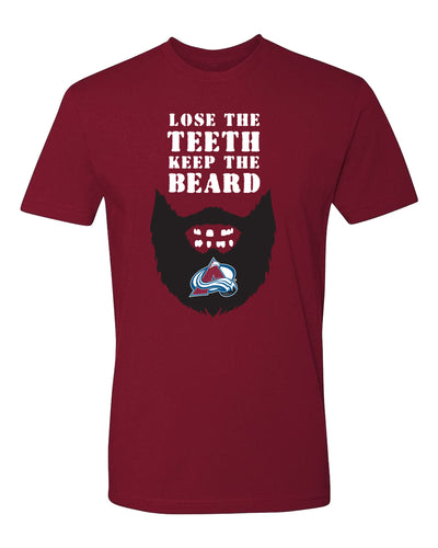 Avalanche Loose The Teeth Keep The Beard Tee