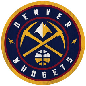 Nuggets Primary Logo Wall Mount