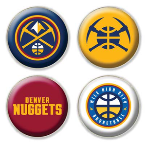 Nuggets 4 Pack Magnet Set