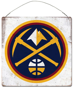 Nuggets Tin Sign