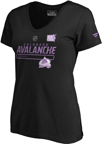 Avalanche Women's Hockey Fights Tee