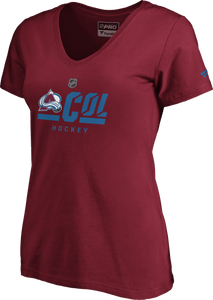 Avalanche Ladies Secondary S/S Tee - Burgundy
