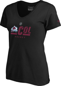 Avalanche Ladies Secondary S/S Tee - Black