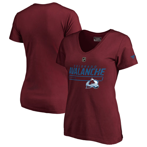Ladies Avalanche Authentic Pro Prime Tee - Burgundy