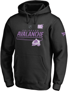 Avalanche Hockey Fights Cancer Hoody