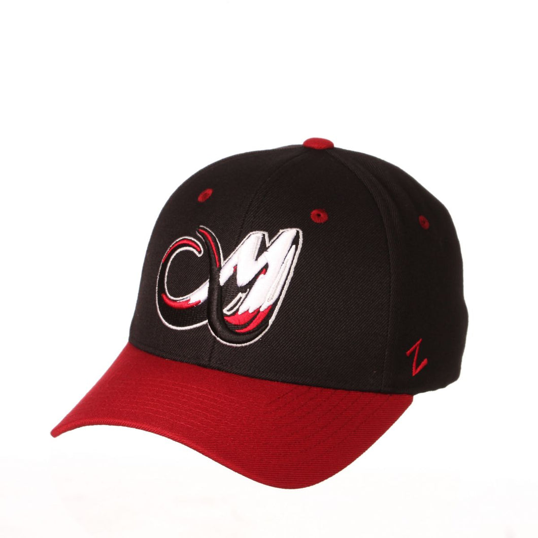 Colorado Mammoth Competitor Hat - Black/Burgundy