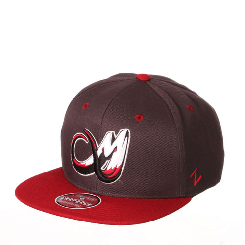 Colorado Mammoth Snapback - Charcol/Burgundy