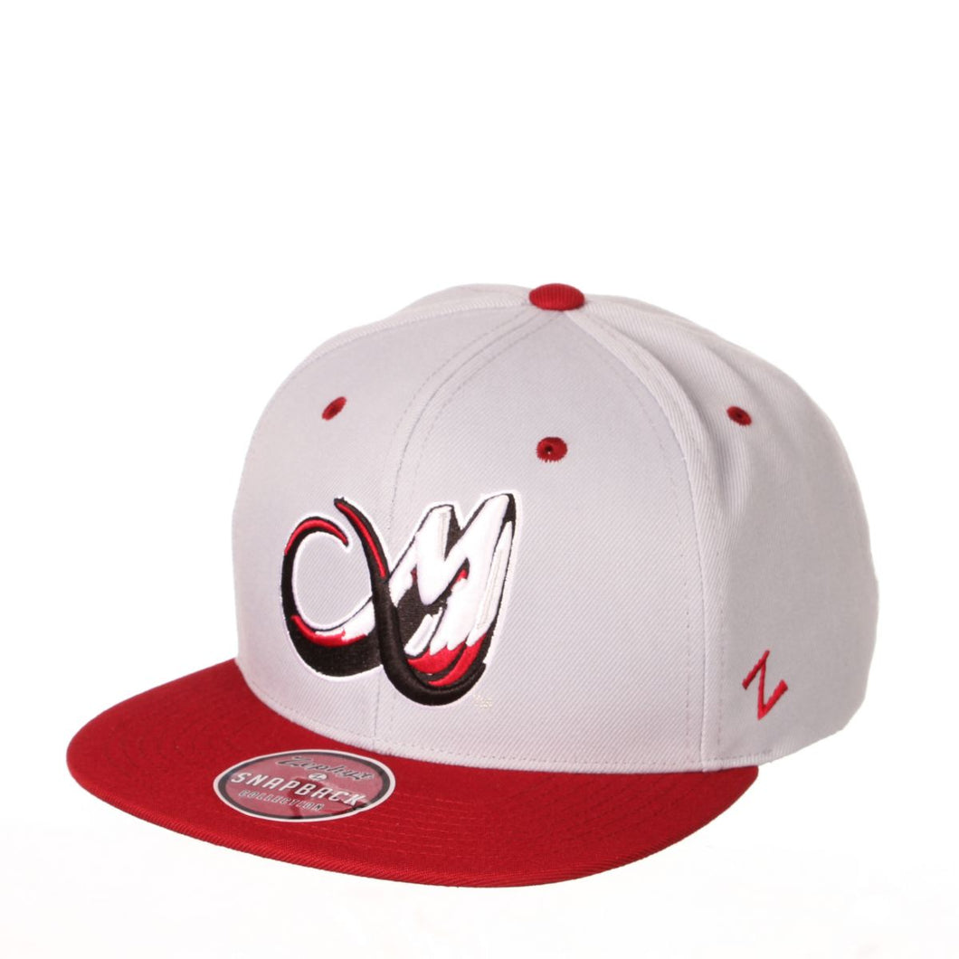 Colorado Mammoth Snapback - Grey/Burgundy