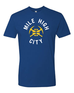 Men's Nuggets Mile High City Tee - Blue