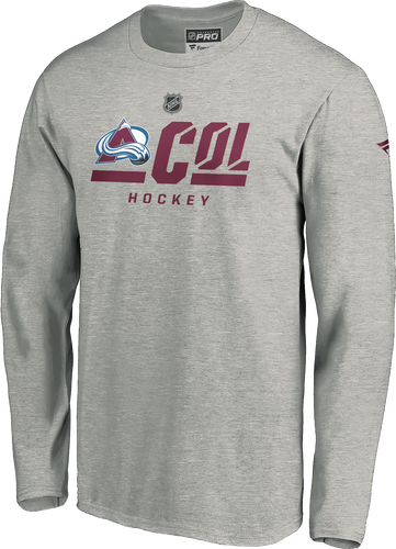 Avalanche Men's Secondary L/S Tee - Grey