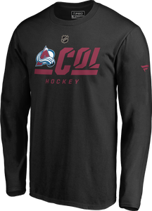 Avalanche Men's Secondary L/S Tee - Black