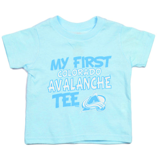 Toddler My First Avs Blue Tee - Avalanche