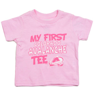 Toddler My First Avs Pink Tee - Avalanche