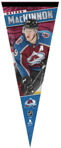 Avalanche MacKinnon Player Pennant