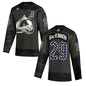 2020 Avalanche Military Player Jersey (Altitude Authentics Exclusive)