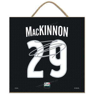2019 NHL All-Star Game Name & Number Plaque- #29 Nathan MacKinnon