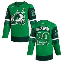 Avalanche St Pat's Authentic Jerseys (Altitude Authentics Exclusive)