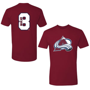 Avalanche #8 Cale Makar Player Tee