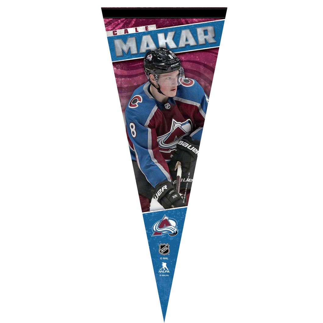Avalanche #8 Cale Makar Player Pennant