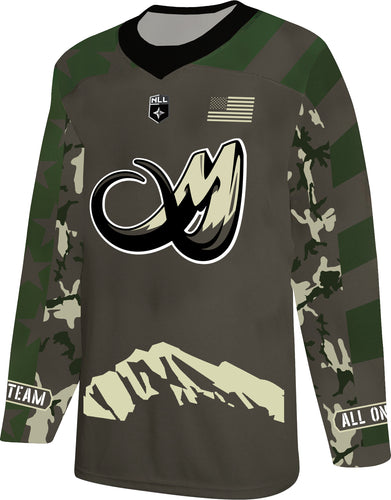 2020 Colorado Mammoth Military Jersey