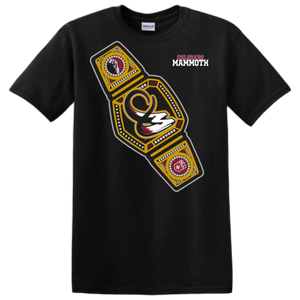 Colorado Mammoth Wrestling Belt Tee