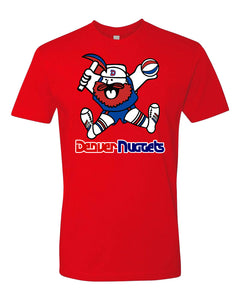 Men's Nuggets Retro Maxie The Miner Tee - Red