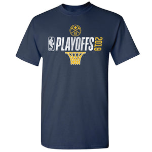 Men's 2019 Nuggets Playoff Net Logo Tee