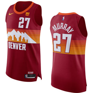 2020-21 Nuggets City Edition Authentic Jersey