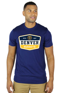 Nuggets Men's S/S Barwin Tee - Navy