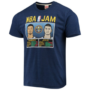 Nuggets NBA Jam Murray/Jokić Tee