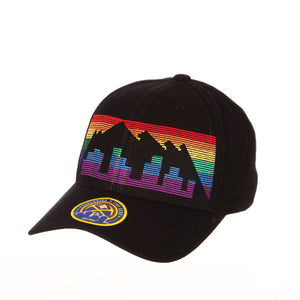 Nuggets 2019 Skyline Blackout City Edition Hat