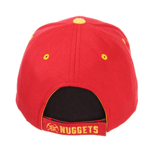 Nuggets Adjustable Competitor Primary Logo - Cardinal