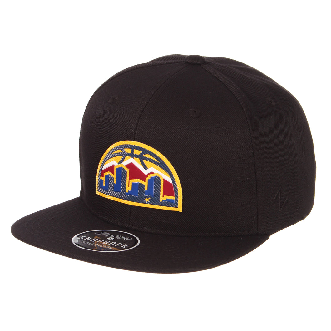 Nuggets Skyline Badge Snapback - Black