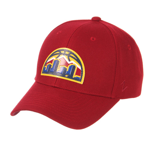 Nuggets Skyline Badge Competitor Hat - Cardinal