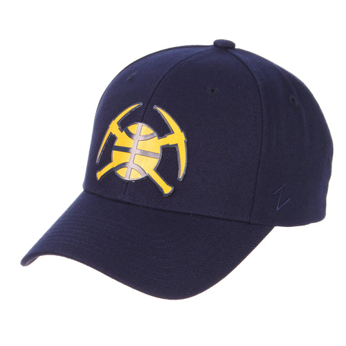 Nuggets Pick Axe / Ball  Badge Competitor Hat - Navy