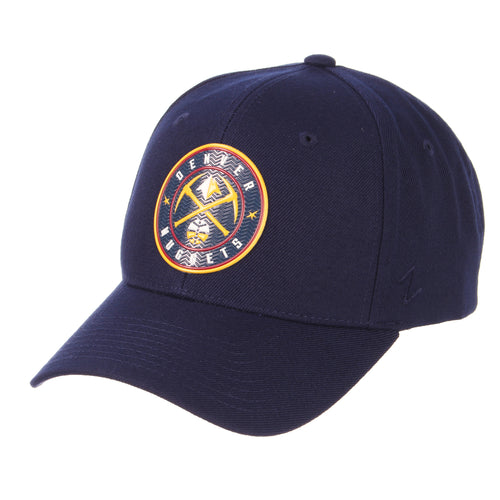 Nuggets Global Badge Competitor Hat - Navy