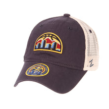 Nuggets Adjustable Mesh Skyline - Navy