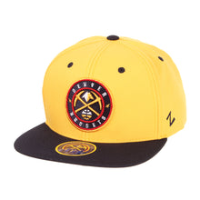 Nuggets Snapback Global Logo Z11 Core - Gold/Navy